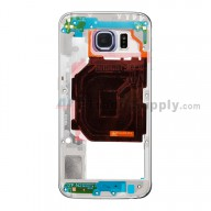 For Samsung Galaxy S6 SM-G920V Rear Housing Replacement - Sapphire - Grade S+