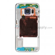 For Samsung Galaxy S6 Edge SM-G925A Rear Housing Replacement - Sapphire - Grade S+