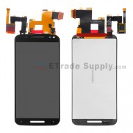 For Motorola Moto X Style XT1575 / XT1572 LCD Screen and Digitizer Assembly Replacement (5.7inches) - Black - Without Logo - Grade S+