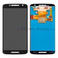 For Motorola Droid Maxx 2 LCD Screen and Digitizer Assembly Replacement (5.5 inches) - Black - Without Any Logo - Grade S+