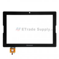 For Lenovo A10-70 A7600 Digitizer Touch Screen  Replacement - Black - With Logo - Grade S+