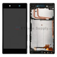 For Sony Xperia Z5 LCD Screen and Digitizer Assembly with Front Housing Replacement - Black - Grade S+