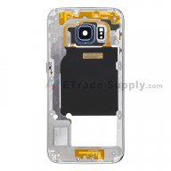 For Samsung Galaxy S6 Edge SM-G925F Rear Housing Replacement - Sapphire - Grade S+