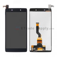For Alcatel One Touch Idol 3 LCD Screen and Digitizer Assembly Replacement (4.7 Inches) - Black - Without Logo - Grade S+