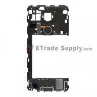 For LG Nexus 5X H790/H791 Rear Housing Replacement (Black Home Button) - Black - Grade S+