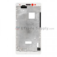 For Huawei Mate S Front Housing Replacement - White - Grade S+
