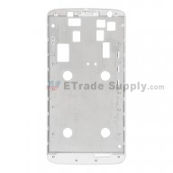 For Motorola Moto X Play XT1562 Front Housing Replacement - White - Grade S+