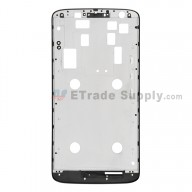For Motorola Moto X Play XT1562 Front Housing Replacement - Black - Grade S+