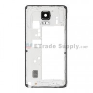 For Samsung Galaxy Note 4 SM-N910V Rear Housing Replacement - Black - Grade S+