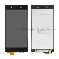 For Sony Xperia Z5 LCD Screen and Digitizer Assembly Replacement - Black - With Logo - Grade S