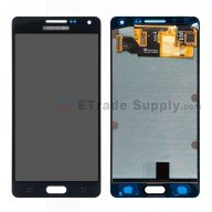 For Samsung Galaxy A5 SM-A500 LCD Screen and Digitizer Assembly Replacement - Black - With Logo - Grade S+