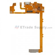 For LG Nexus 5 D820 Charging Port Flex Cable Ribbon Replacement - Black - Grade S+