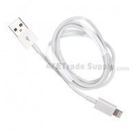 For Apple iPhone 5 USB Data Cable (Length: 1M) - Grade R
