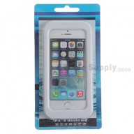 For Apple iPhone 4, iPhone 4S, iPhone 5 Detachable Waterproof Protective Case - White - Grade R