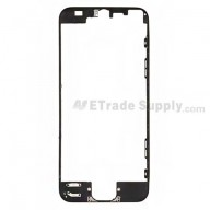 For Apple iPhone 5 Digitizer Frame Replacement - Black - Grade R