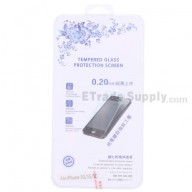 For Apple iPhone 5/5C/5S Tempered Glass Screen Protector (With Package) - Thick:0.20mm - Grade R