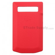 For BlackBerry Porsche Design P'9981 Battery Door Replacement - Red - Grade R