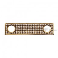 For BlackBerry Porsche Design P'9981 Decorative Camera Lens Bezel with Diamond Replacement - Gold
