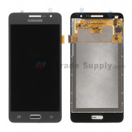 For Samsung Galaxy Grand Prime SM-G530H LCD Screen and Digitizer Assembly Replacement - Black - With Logo - Grade S+
