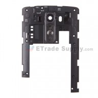 For LG G3 D851/D850 Rear Housing Assembly Replacement - Black - Grade S+