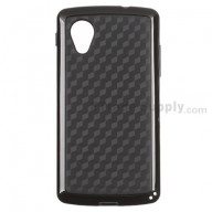 For LG Nexus 5 D820 Protective Case - Black - Grade R
