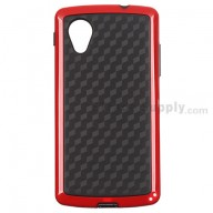 For LG Nexus 5 D820 Protective Case - Red - Grade R