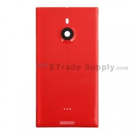 For Nokia Lumia 1520 Battery Door Replacement - Red - With Logo