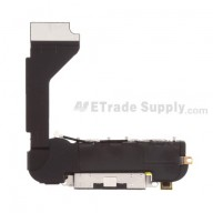 For Apple iPhone 4 Charging Port Flex Cable Ribbon Assembly Replacement (AT&T) - Black - Grade S+