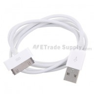 For Apple iPhone 4 USB Data Cable (AT&T) - Grade S+