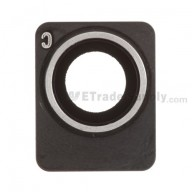 For Apple iPhone 4S Camera Lens with Bezel Replacement - Grade S+