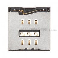 For Apple iPhone 5 SIM Card Reader Contact Replacement - Grade S+