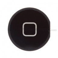For Apple iPad 3 Home Button Replacement - Black - Grade S+
