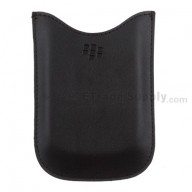 For BlackBerry Bold 9000 Leather Case - Grade S+