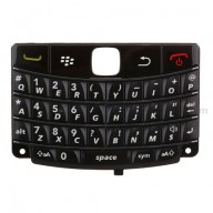 For BlackBerry Bold 9780 Keypad Replacement ,Black - Grade S+