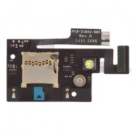 For BlackBerry Bold Touch 9900, 9930 SD Card Reader Contact with Bracket Replacement - Grade S+