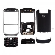 For BlackBerry Curve 8900 Complete Housing Replacement ,Black - Grade S+