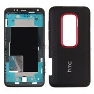 For HTC EVO 3D Front Housing and Battery Door Replacement - Grade S+