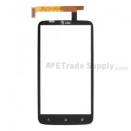 For HTC One X Digitizer Touch Panel Replacement (With Logo) - Grade A