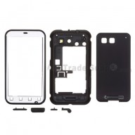 For Motorola Defy, MB525 Complete Housing Replacement - Black - Grade S+