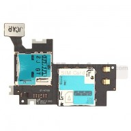 For Samsung Galaxy Note II N7100 SIM Card and SD Card Reader Contact Replacement - Grade S+