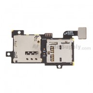 For Samsung Galaxy S III SGH-I747 SIM Card and SD Card Reader Contact Replacement - Grade S+