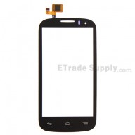 For Alcatel One Touch Pop C5 OT-5036 Digitizer Touch Screen  Replacement - Black - Without Any Logo - Grade S+