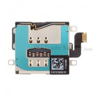 For Apple iPad 4 SIM Card Reader Contact with Bracket Replacement (Wifi+Cellular) - Grade S+