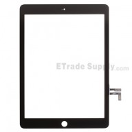 For Apple iPad Air Digitizer Touch Screen Replacement - Black - Grade S+