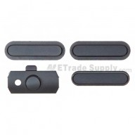 For Apple iPad Mini Side Keys Replacement - Black - Grade S+