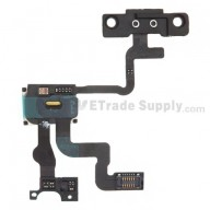 For for Apple iPhone 4S Sensor Flex Cable Ribbon with Ear Speaker Replacement - Grade S+