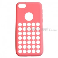 For Apple iPhone 5C Silicone Case - Pink - Grade R