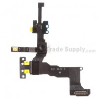 For Apple iPhone 5S Sensor Flex Cable Ribbon with Front Facing Camera Replacement - Grade S+