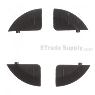 For Apple iPad 3 Magnet Fasten Gasket Set (4pcs/set) - Grade S+