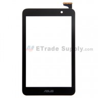 For Asus Memo Pad HD7 ME176 Digitizer Touch Screen Replacement - Black - With Logo - Grade S+
